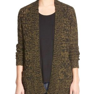 BP Cable Front Marled Cardigan